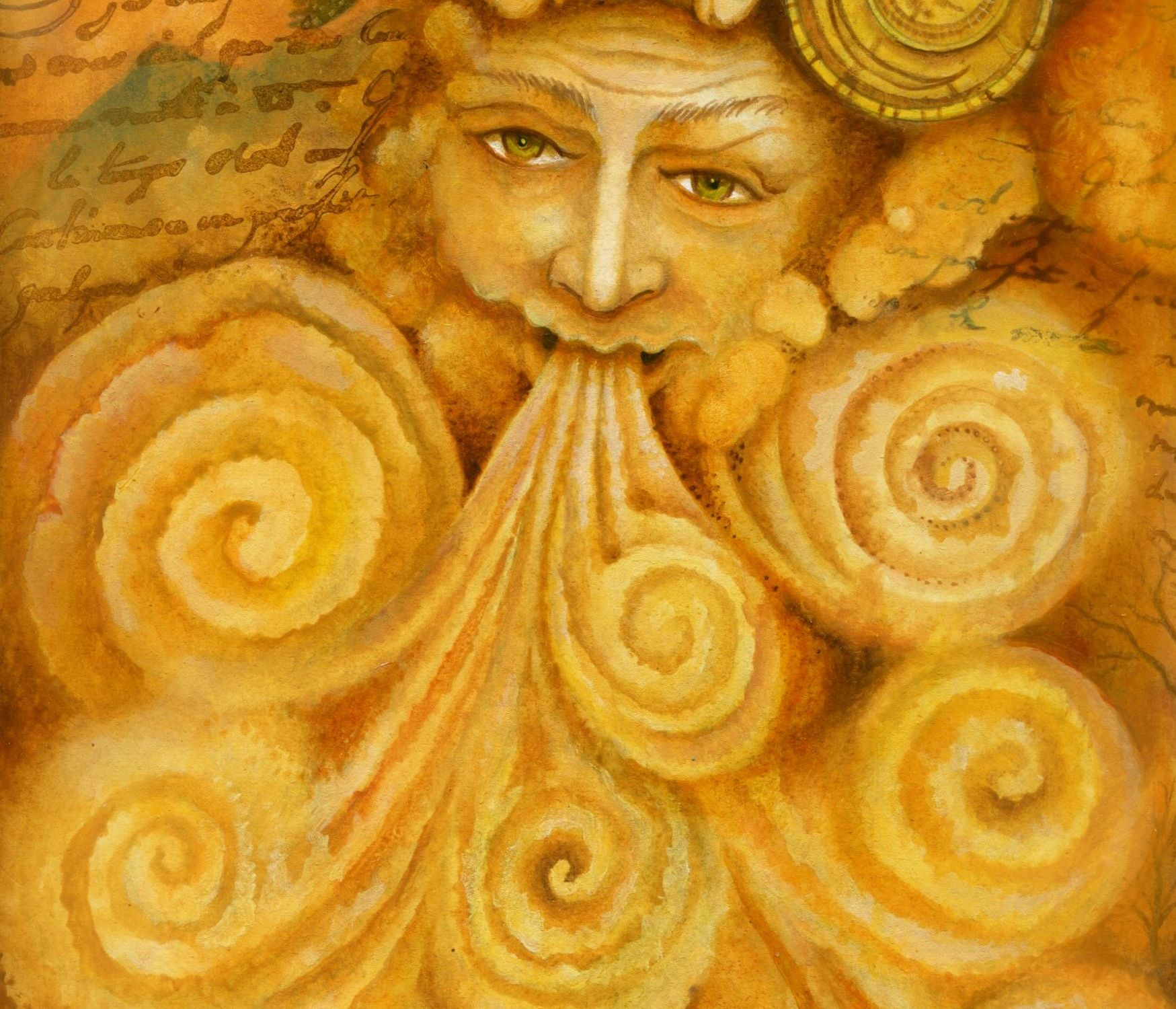 Crysallis - Nine of Spirals - Art: Holly Sierra